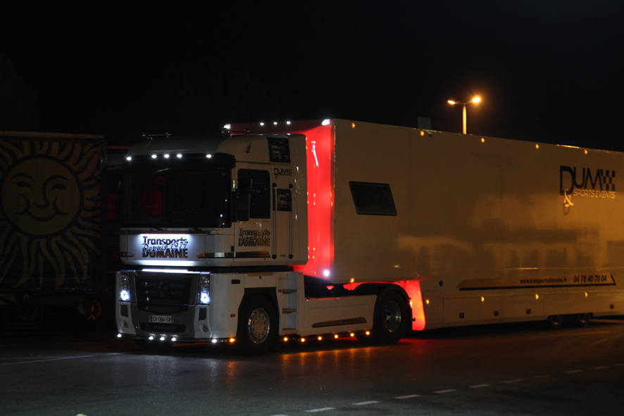 camion nuit
