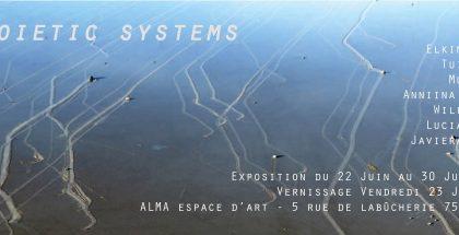 Visuel de l'exposition Autopoietic Systems
